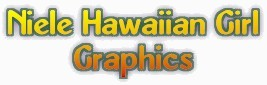 Niele Hawaiian Girl Graphics